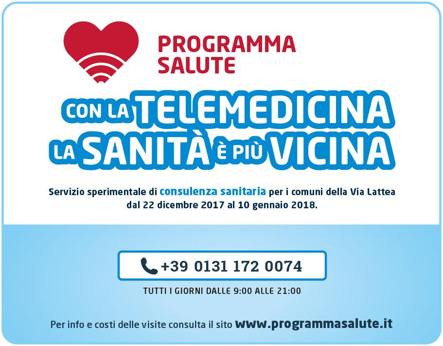 """Potenziato per le vacanze natalizie il servizio di telemedicina """"Meno soli sulle Alpi"""""""